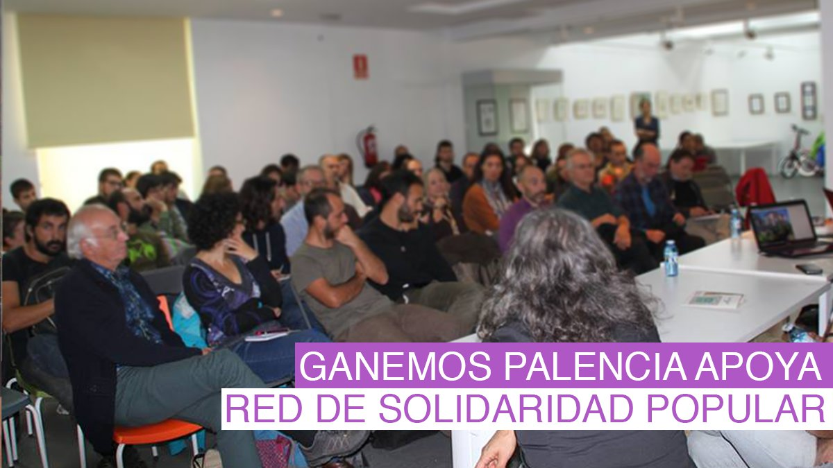 Red de solidaridad popular en Palencia