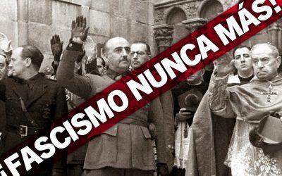 Moción para la retirada del nombre de la Calle Federico Mayo