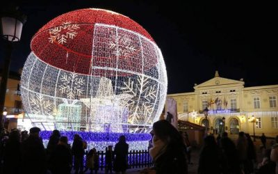 Irregularidades en la iluminación de Navidad de 2018