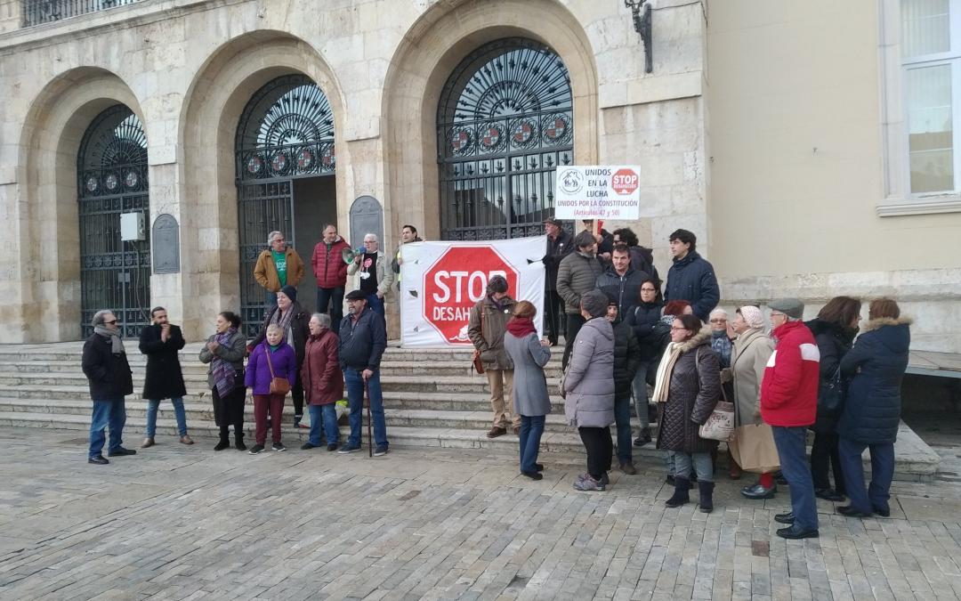 Ganemos Palencia demanda que se convoque la Mesa de la Vivienda a la mayor brevedad posible