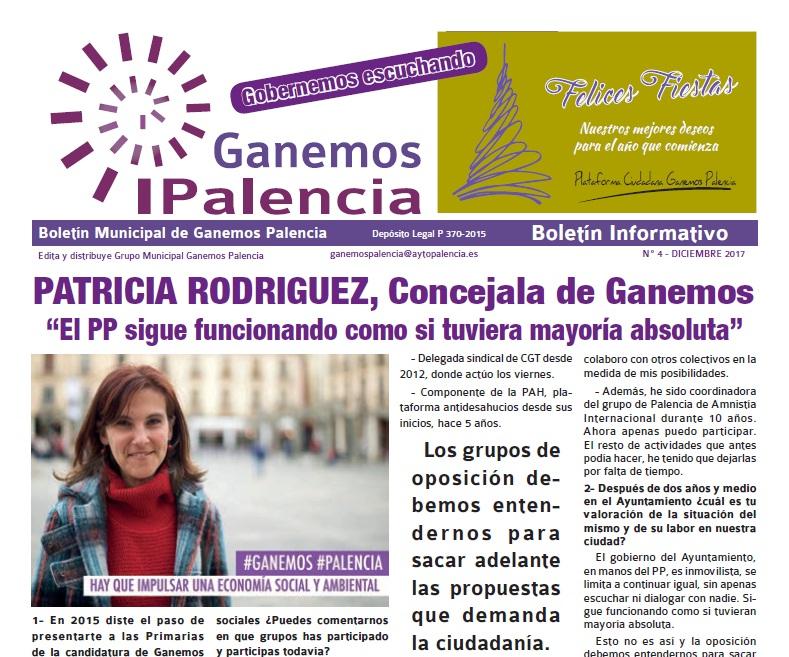 Boletín nº4 Diciembre de 2017