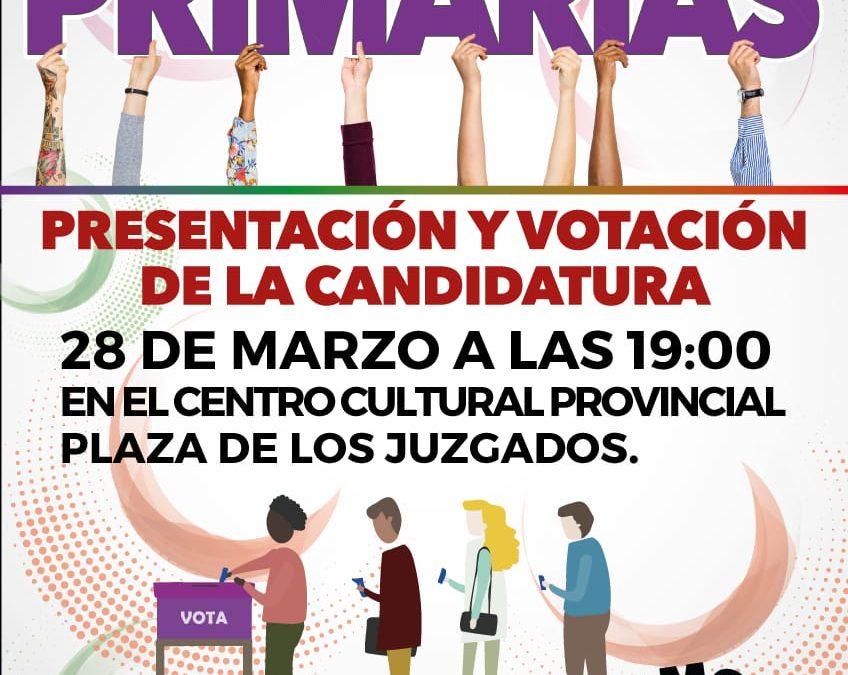 Listado de Candidatas y Candidatos a las primarias de Ganemos Palencia