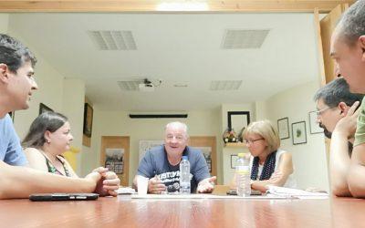 Reunión con la Asociación por la Recuperación de la Memoria Histórica