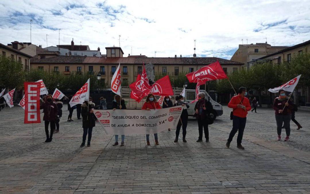 Apoyamos a las trabajadoras del Servicio de Ayuda a Domicilio