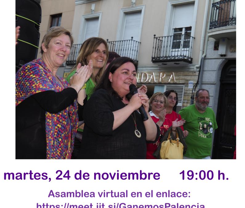 Asamblea Abierta Ganemos Palencia 24/11/20