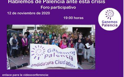 Hablemos de Palencia ante esta crisis