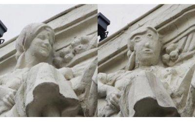 Ganemos Palencia pide el informe de Patrimonio sobre la figura de la Calle Mayor 9