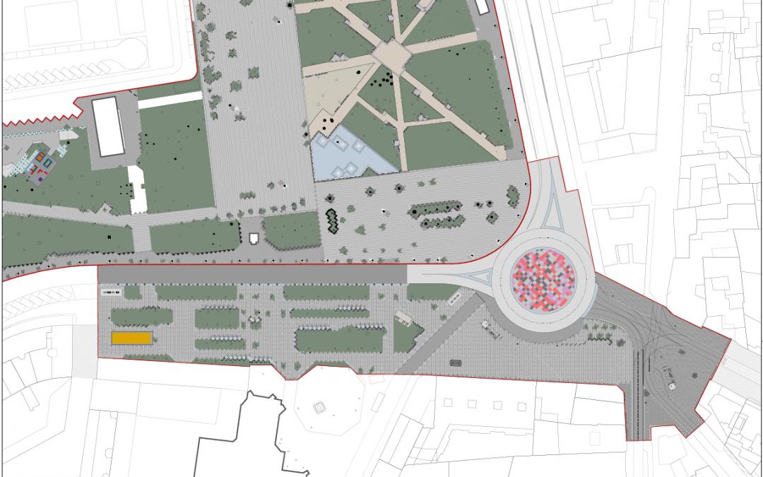 Ganemos Palencia exponemos nuestras propuestas para la remodelación de la Plaza de León